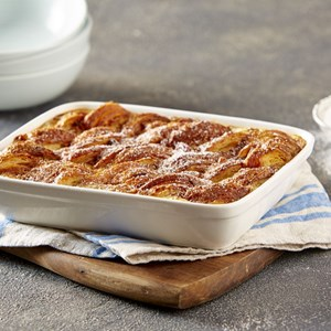 Kirsten Tibballs' Bread and Butter Pudding